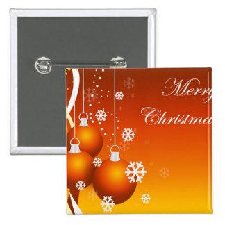 holidays decoration pinback buttons