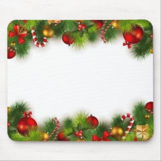 holidays mouse pads