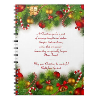 holidays notebook