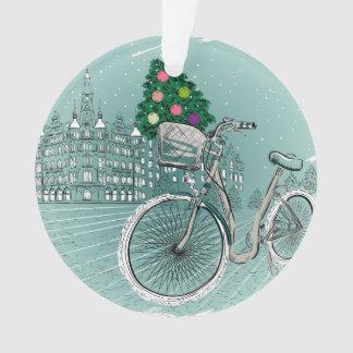 Holidays Postcard With Holidays Tree