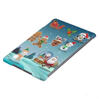 Holidays Scene iPad Air Cover
