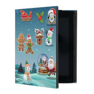 Holidays Scene iPad Case