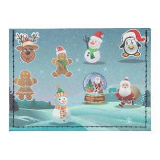 Holidays Scene Tyvek® Card Case Wallet