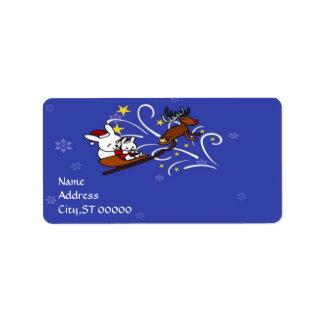 Holidays Season Address Label
