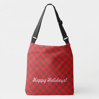 HolidayZ Plaid / Tartan Crossbody Bag