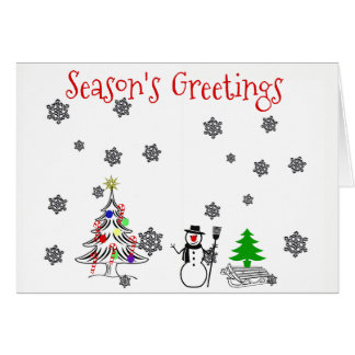 #holidayZ - Season's Greetings Card