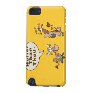 holier than thou holey vs holy cow pun humor iPod touch 5G covers