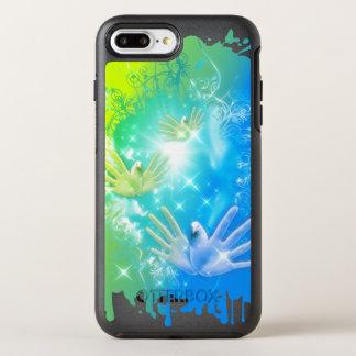holiES - Flying Hands Pigeons ART OtterBox Symmetry iPhone 8 Plus/7 Plus Case