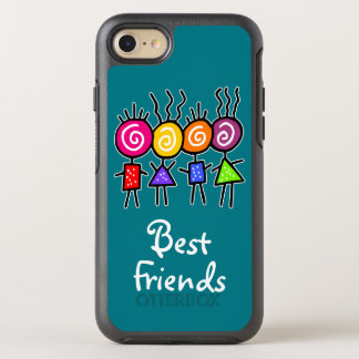 holiES - HOLI BEST FRIENDS + your ideas OtterBox Symmetry iPhone 7 Case