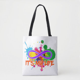 holiES - Lemniscate - It's my Life Splashes Tote Bag