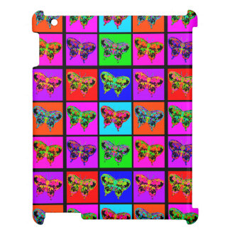 holiES - Psychedelic Butterflies Mosaic iPad Case