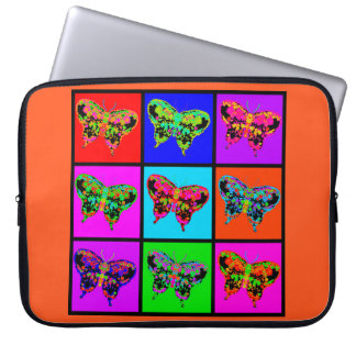 holiES - Psychedelic Butterflies Mosaic Laptop Sleeve