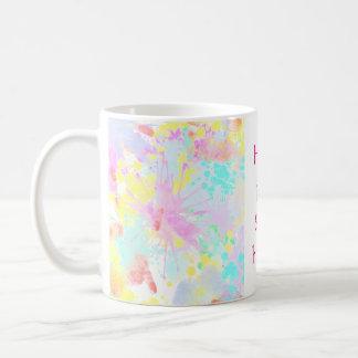 holiES - Splashes seamless pattern pastel 1 Coffee Mug