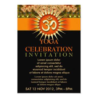 Holistic Spiritual Yoga Workshop Event Flyer 13 Cm X 18 Cm Invitation Card