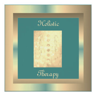 Holistic Therapy Poster