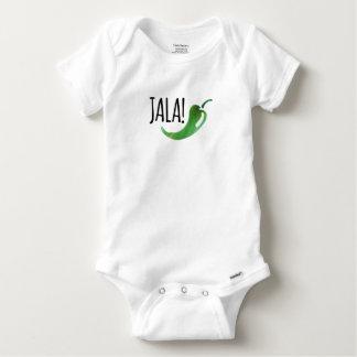 Holla Jalapeno Funny Baby Bodysuit
