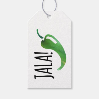 Holla Jalapeno Funny Gift Tags