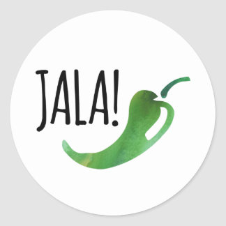 Holla Jalapeno Stickers