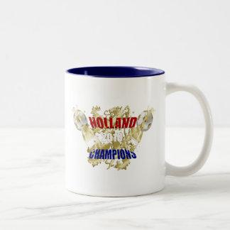 Holland 2010 Leeuw Champions of the World Two-Tone Coffee Mug