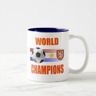 Holland 2010 World Champions Two-Tone Coffee Mug