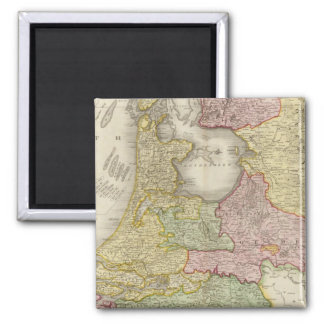 Holland 5 square magnet