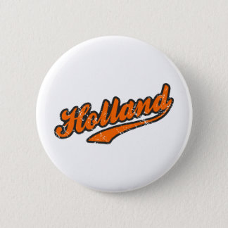 Holland 6 Cm Round Badge
