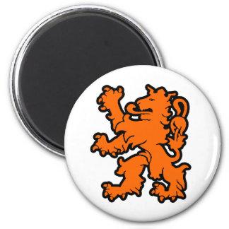 Holland 6 Cm Round Magnet