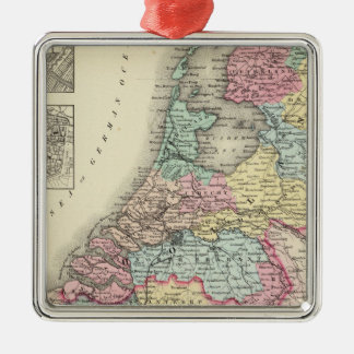 Holland and Belgium 2 Christmas Ornament