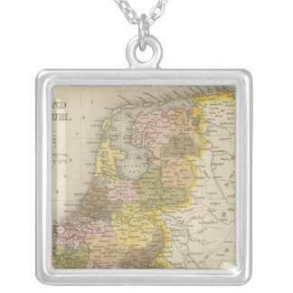Holland And Belgium 2 Silver Plated Necklace