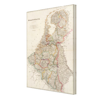 Holland and Belgium Canvas Print