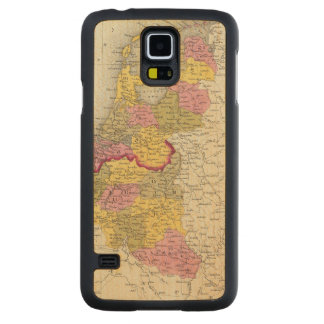 Holland And Belgium Carved Maple Galaxy S5 Case