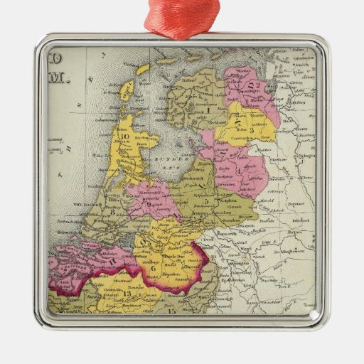 Holland And Belgium Christmas Tree Ornament
