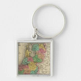 Holland And Belgium Key Ring