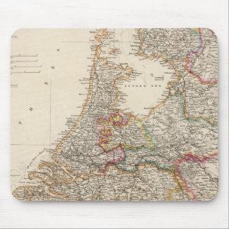 Holland and Belgium Mouse Mat