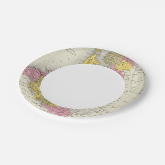 Holland And Belgium Paper Plate