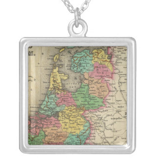 Holland And Belgium Silver Plated Necklace
