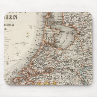 Holland, Belgium, Luxembourg Mouse Mat