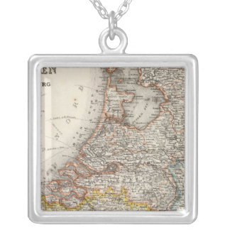 Holland, Belgium, Luxembourg Silver Plated Necklace