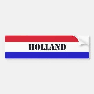 Holland Bumpersticker Bumper Sticker