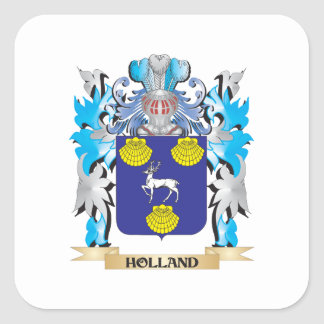 Holland Coat of Arms - Family Crest Sticker