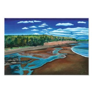 Holland Cove Prince Edward Island- Watercolor Photo
