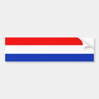 Holland Flag Bumper Sticker