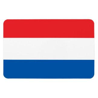 Holland Flag Rectangular Photo Magnet