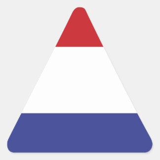 Holland flag triangle sticker