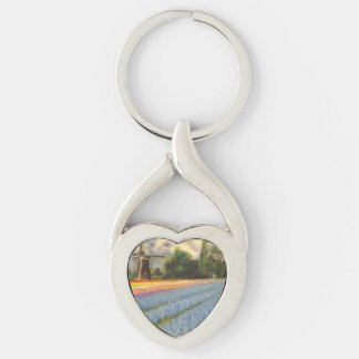 Holland Flowers Key Ring