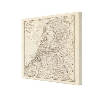 Holland, Friesland, Groningen, Overyssel Canvas Print