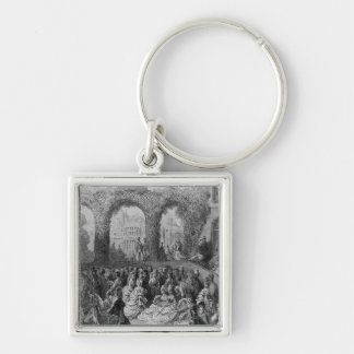 Holland House - A Garden Party Key Ring