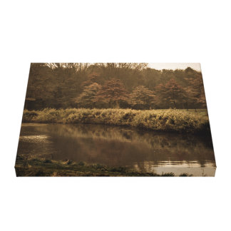 Holland in fall Landscape Canvas