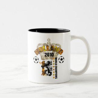 Holland Kings of the world 2010 Champions Art Two-Tone Coffee Mug