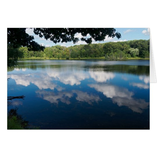 Holland Lake Scenic in Eagan Card